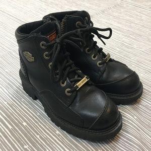 Women's Harley Davidson Black Boots